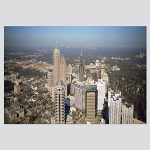 High angle view of buildings in a city, Atlanta, G