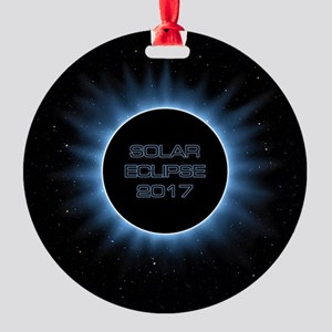Solar Eclipse 2017 Round Ornament