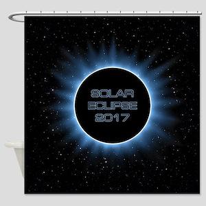 Solar Eclipse 2017 Shower Curtain