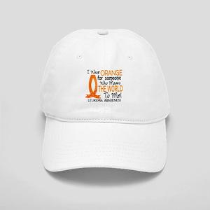 Means World To Me 1 Leukemia Cap