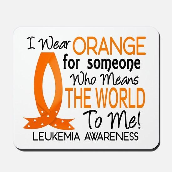 Means World To Me 1 Leukemia Mousepad