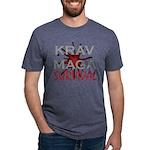 Krav Maga Mens Tri-blend T-Shirts