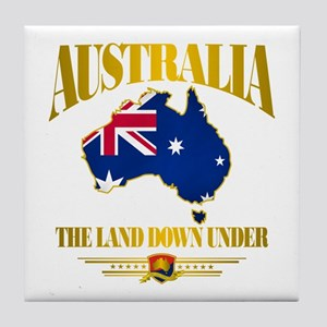 """Land Down Under"" Tile Coaster"