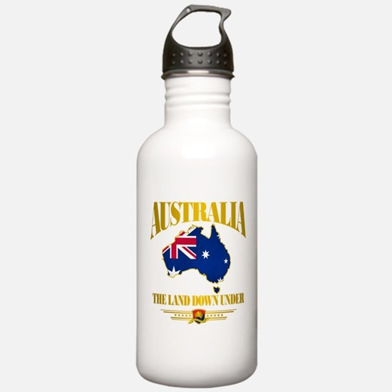 """Land Down Under"" Water Bottle"