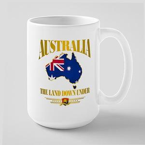 """Land Down Under"" Large Mug"