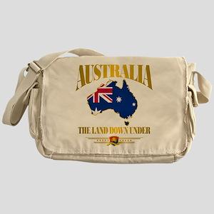 """""""Land Down Under"""" Messenger Bag"""