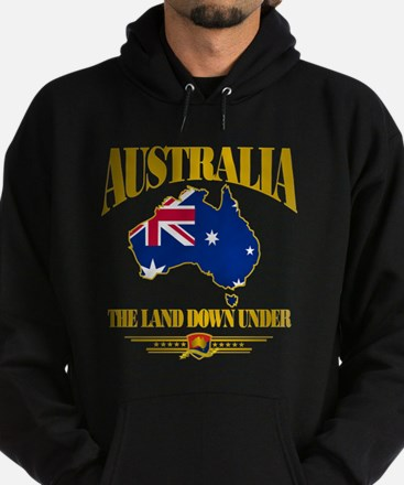 """Land Down Under"" Hoodie (dark)"