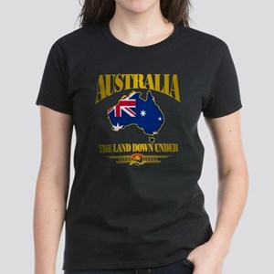 """Land Down Under"" Women's Dark T-Shirt"