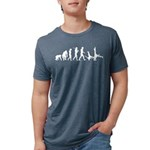 Evolution of Capoeira Mens Tri-blend T-Shirts
