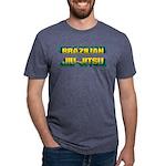 Brazilian Jiu Jitsu Mens Tri-blend T-Shirt