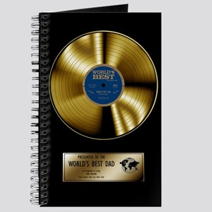 Dad Gold Disc Journal
