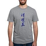 Korean Taekwondo Mens Tri-blend T-Shirts