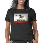 CAL-BRED AND PROUD Women's Classic T-Shirt