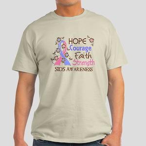 Hope Courage Faith SIDS Shirts Light T-Shirt