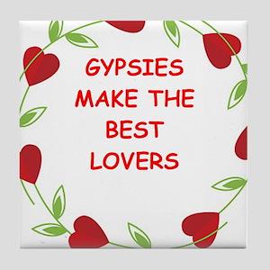 gypsies Tile Coaster