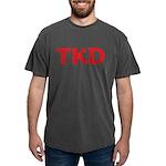 TKD TaeKwonDo Mens Comfort Color T-Shirts