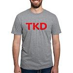 TKD TaeKwonDo Mens Tri-blend T-Shirts