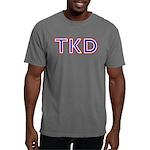 Taekwondo TKD Mens Comfort Color T-Shirts