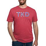 Taekwondo TKD Mens Tri-blend T-Shirts