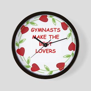 gymnasts Wall Clock