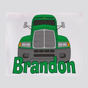 Trucker Brandon Throw Blanket