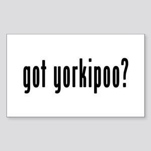 GOT YORKIPOO Sticker (Rectangle)