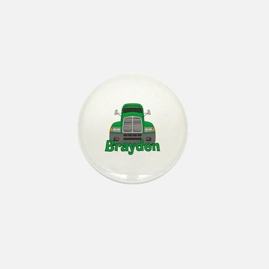 Trucker Brayden Mini Button