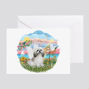 AngelStar-ShihTzu#23 Greeting Card