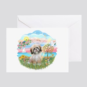 AngelStar-ShihTzu#13 Greeting Card