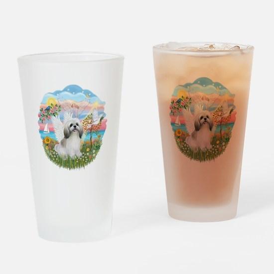 AngelStar-ShihTzu#23 Drinking Glass