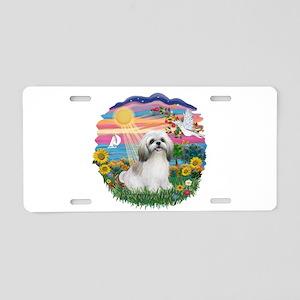 AutumnSun-ShihTzu#23 Aluminum License Plate