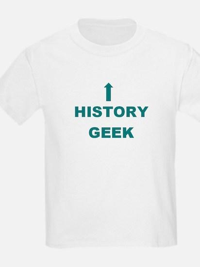 History Geek Kids T-Shirt