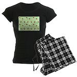 Strawberry pattern Women's Dark Pajamas