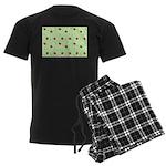 Strawberry pattern Men's Dark Pajamas