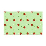 Strawberry pattern 38.5 x 24.5 Wall Peel