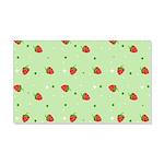 Strawberry pattern 22x14 Wall Peel