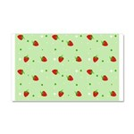 Strawberry pattern Car Magnet 20 x 12
