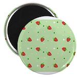 Strawberry pattern Magnet