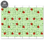 Strawberry pattern Puzzle