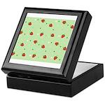 Strawberry pattern Keepsake Box