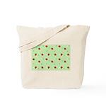 Strawberry pattern Tote Bag