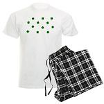 Lucky Irish Four Leafed Clove Men's Light Pajamas