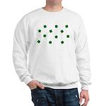 Lucky Irish Four Leafed Clove Sweatshirt