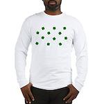 Lucky Irish Four Leafed Clove Long Sleeve T-Shirt