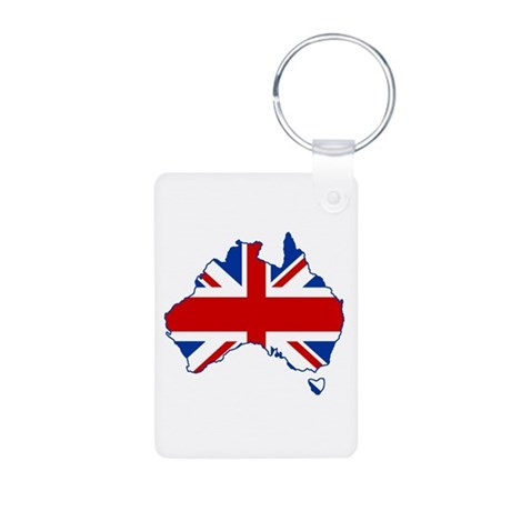 Poms in Oz Aluminum Photo Keychain