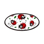 Cute Ladybug pattern Patches
