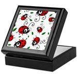 Cute Ladybug pattern Keepsake Box