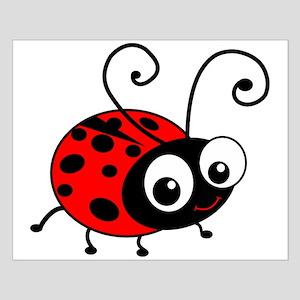 Cute Ladybug Small Poster
