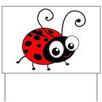 Cute Ladybug Yard Sign