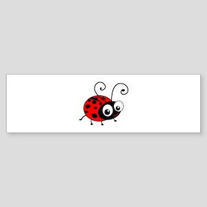 Cute Ladybug Sticker (Bumper)